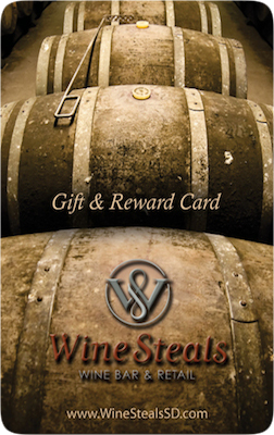 Wine Steals Gift & Rewards Card